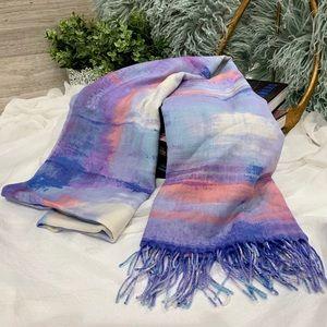 Nordstrom Tissue Print Wool & Cashmere Wrap Scarf